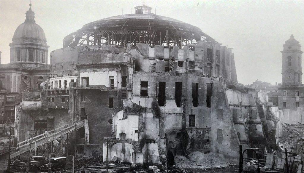 restauro mausoleo