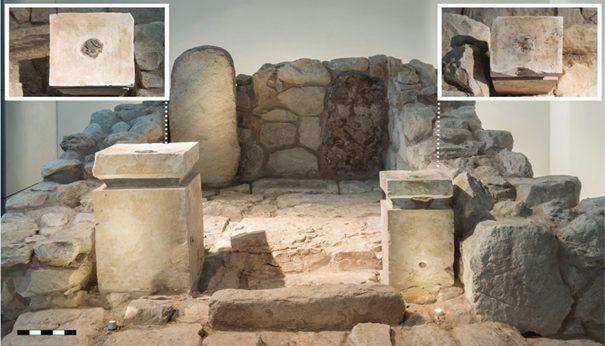 A Tel Arad, gli archeologi hanno trovato tracce di cannabis bruciata e incenso su una coppia di altari calcarei di un tempio ebraico.
