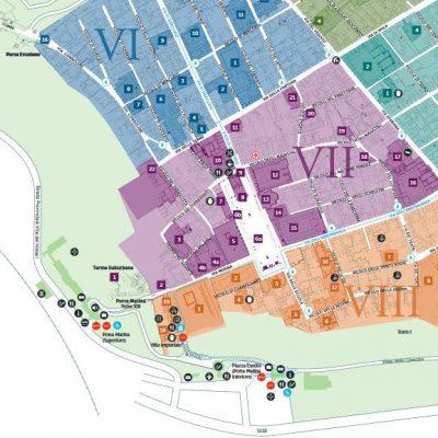 pompei mappa