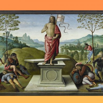 pasqua perugino resurrezione