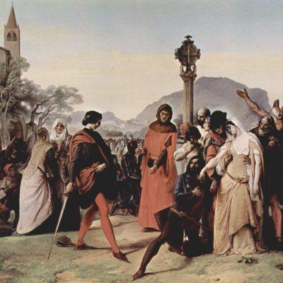 vesrpi siciliani quadro di francesco hayez