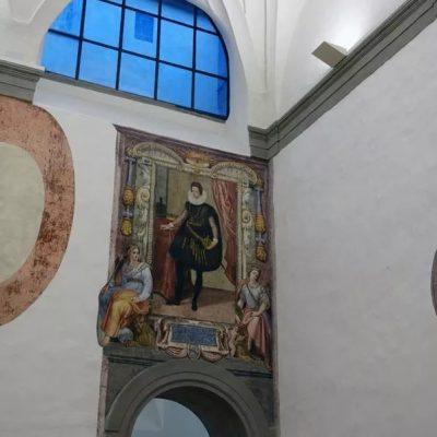 affreschi uffizi