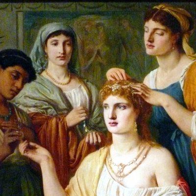 Solomon-Toilet_Roman_Lady