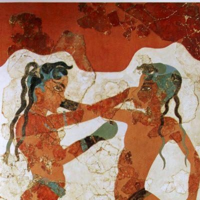 affreschi akrotiri