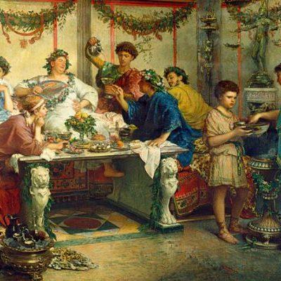 alimentazione antica roma
