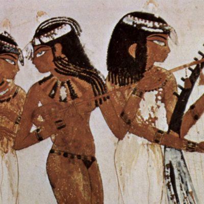 strumenti musicali egizi